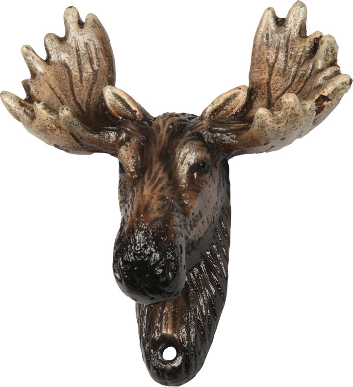 Moose Cast Iron Bottle Opener