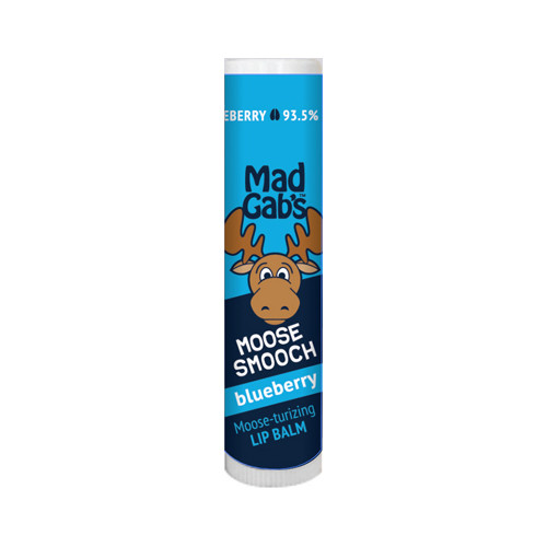 Mad Gab's Blueberry Moose Smooch Stick Lip Balm